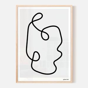 lámina 50x70 cm impresa en papel látex 200 gramos, enmarcada en madera natural y vidrio; $38.000 + envío.